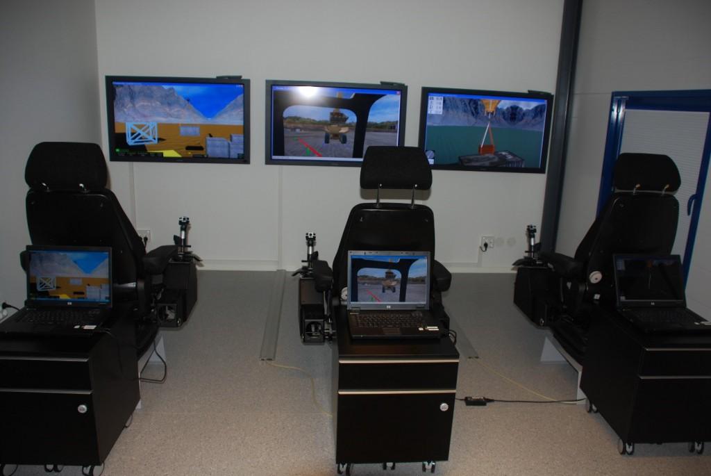Simulatorer för maskinövningar